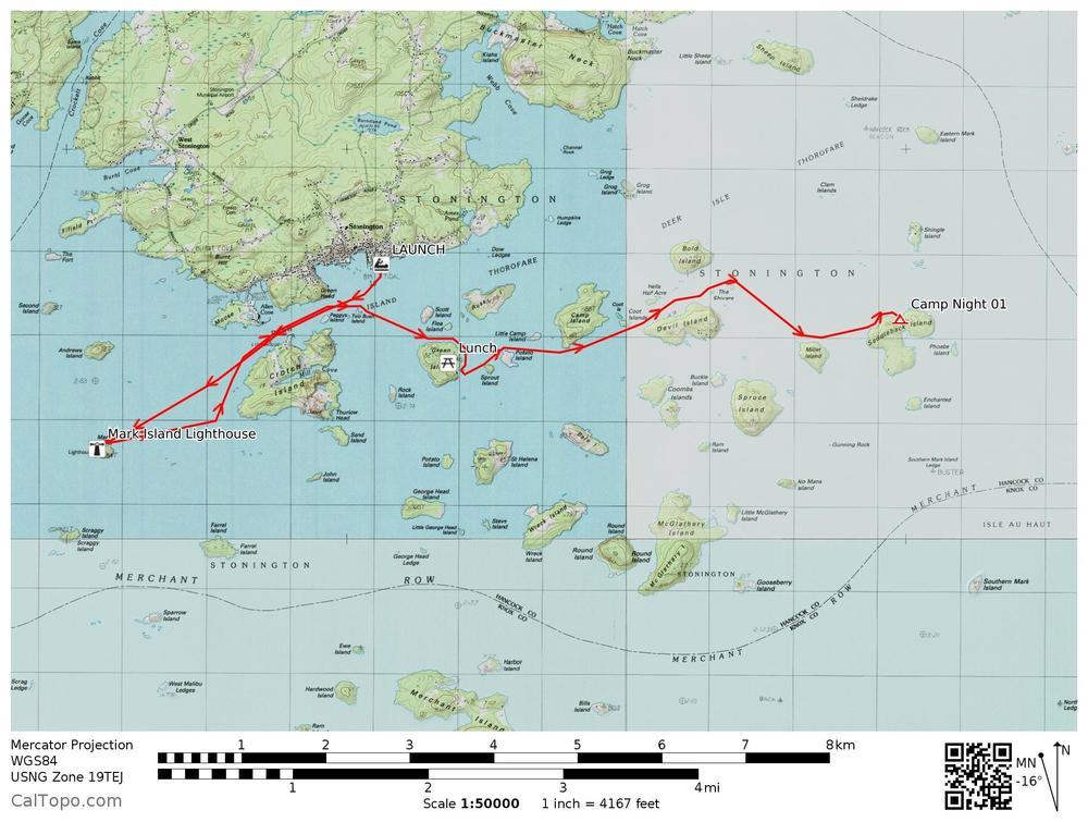 Three Days at Sea Paddle Stonington The Wild Outsiders