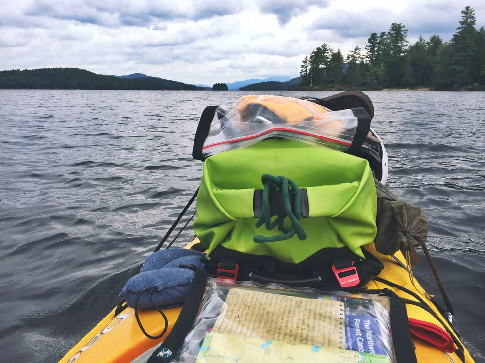 Paddling the rest of Long Lake felt odd after having a partner the previous five days.