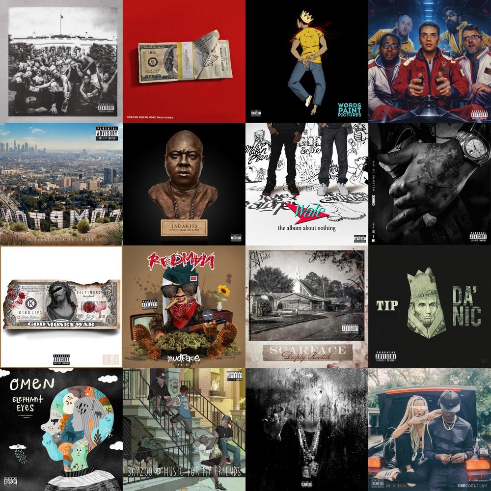 top 100 best rap albums