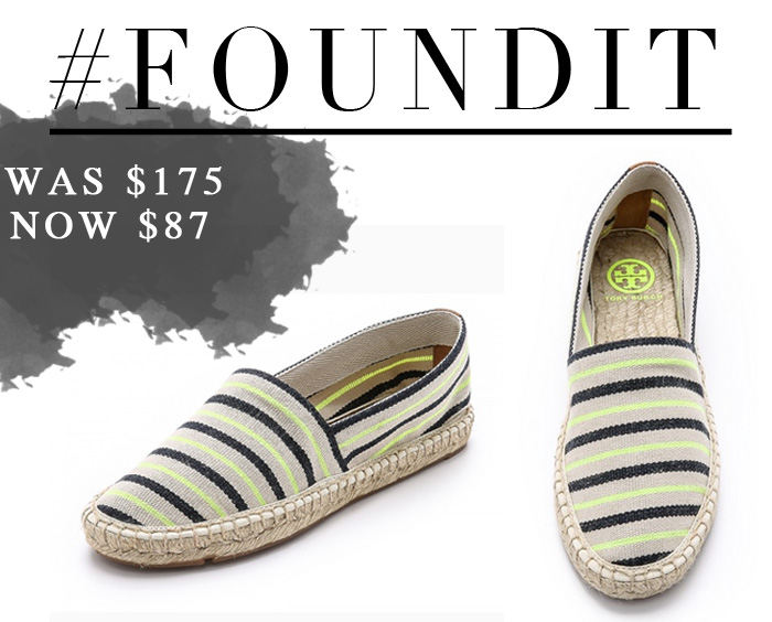 Tory Burch Espadrilles Sale