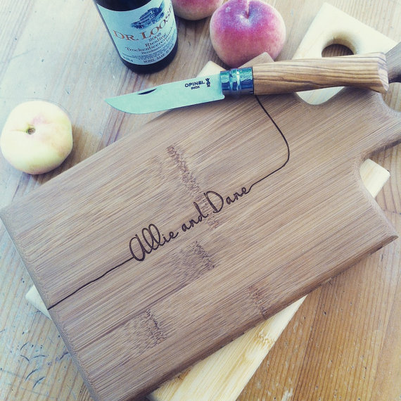 woodbemine Personalized Serving Board