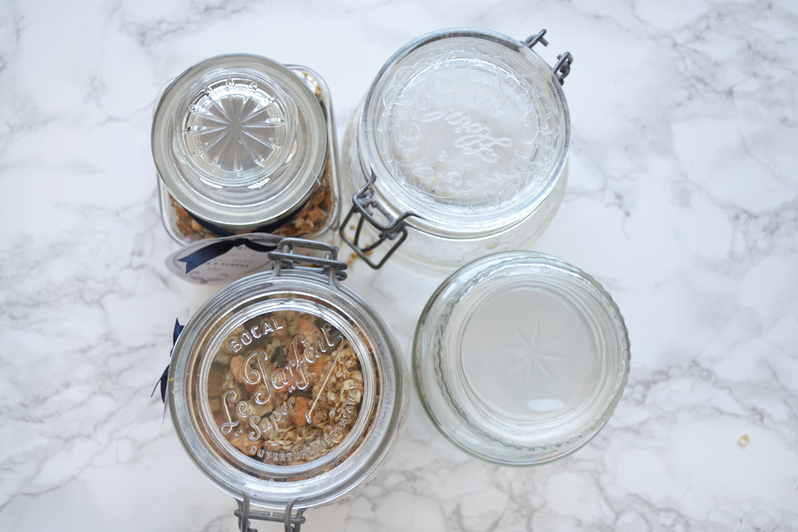 DIY granola gifts.