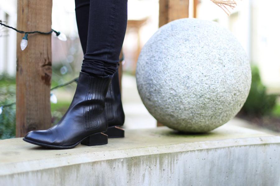 Behold! Alexander Wang Anouck Chelsey Boots.