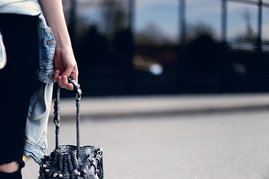 OMG I LOVE THIS BAG. Alexander Wang Diego bucket purse.