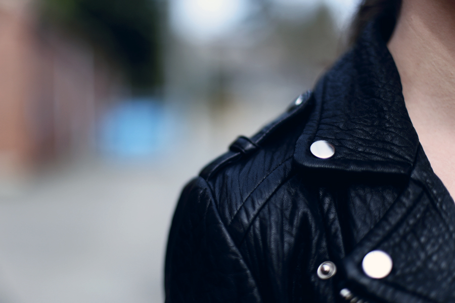 Mackage Rumor jacket.  Love this leather motorcycle jacket!