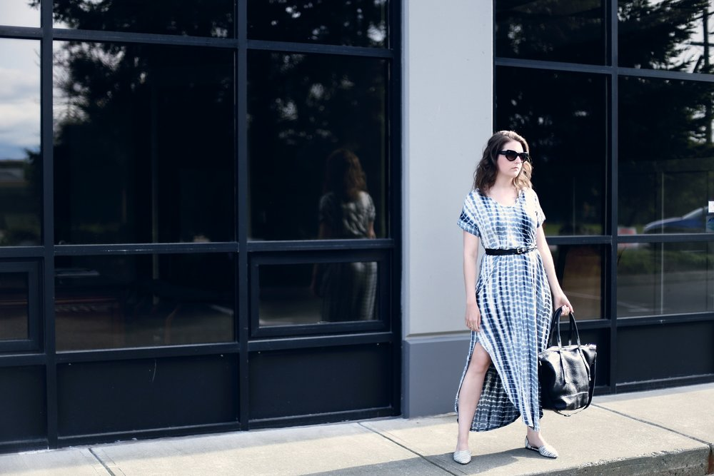 How to style a maxi dress. #ootd