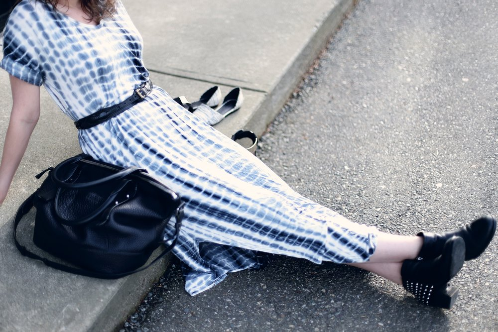 Shoes to wear with a maxi dress.