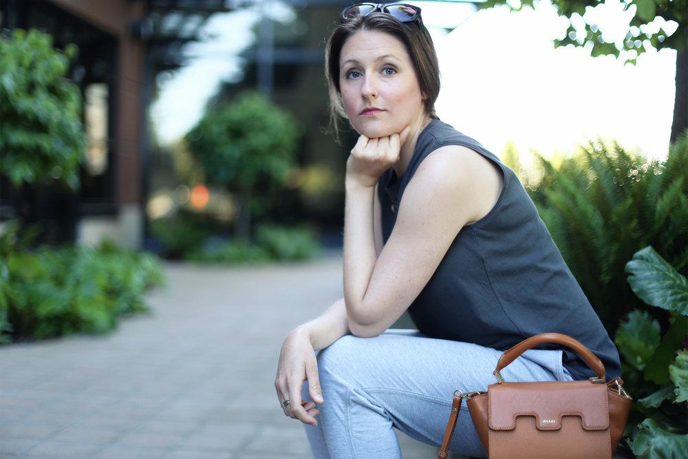 Minimalist fashion: Kendra Found It Blog.