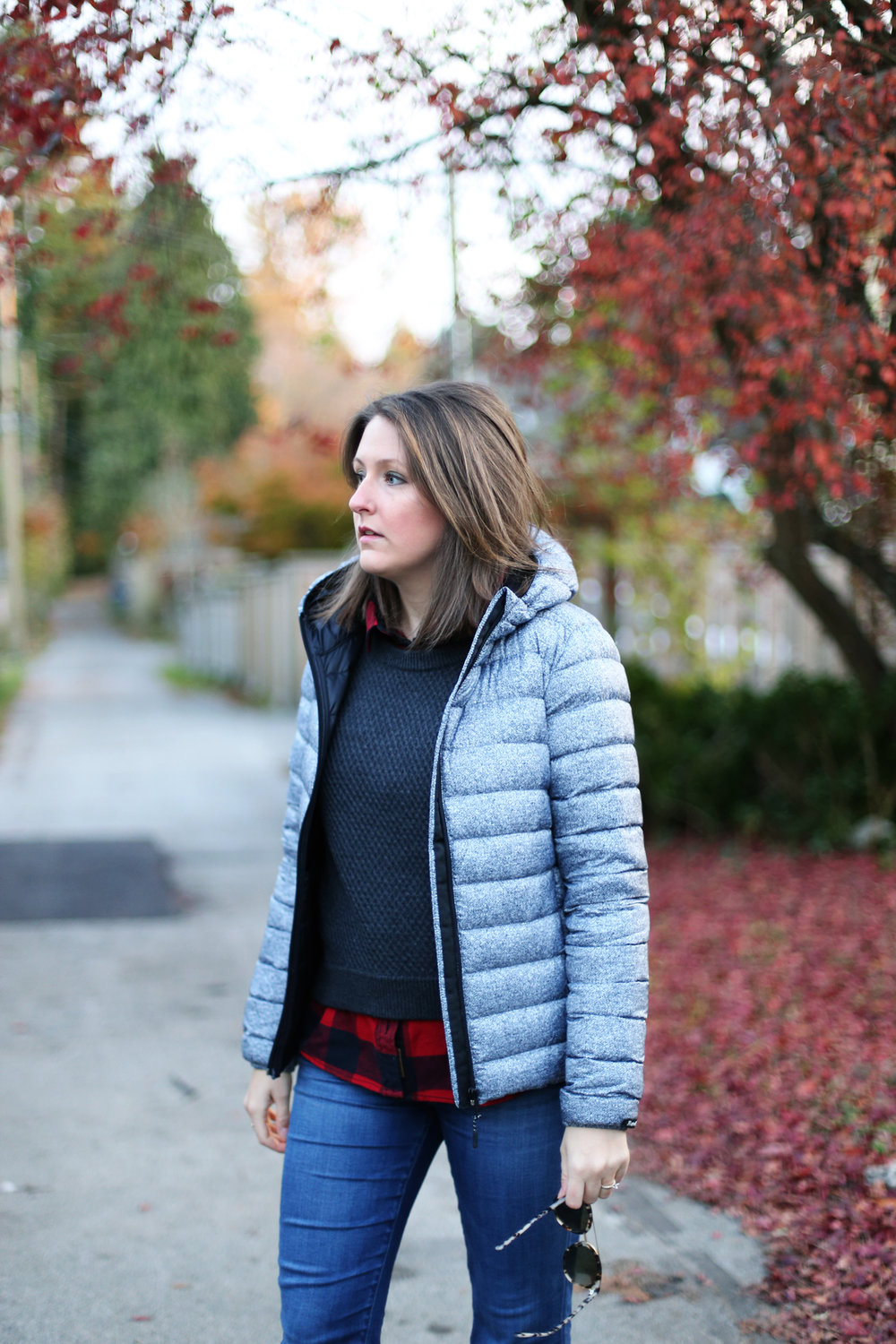 Roots down packable jacket - such a great coat for travel and keeping warm.