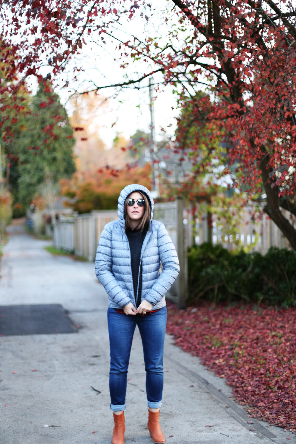 How to be warm AND stylish in the winter. I used to hate puffer jackets but now I love them!
