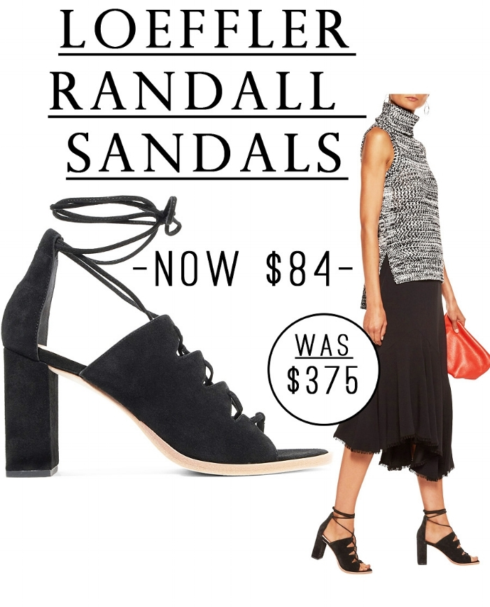 This is an insane sale! These Loeffler Randall Suede Sandals are just $84!!! #sale