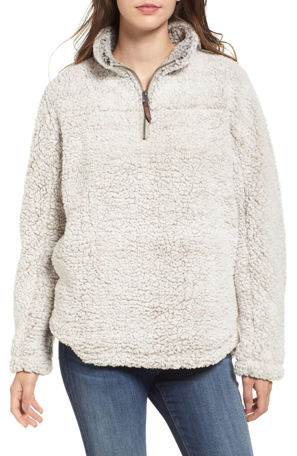 Fleece Pullover .