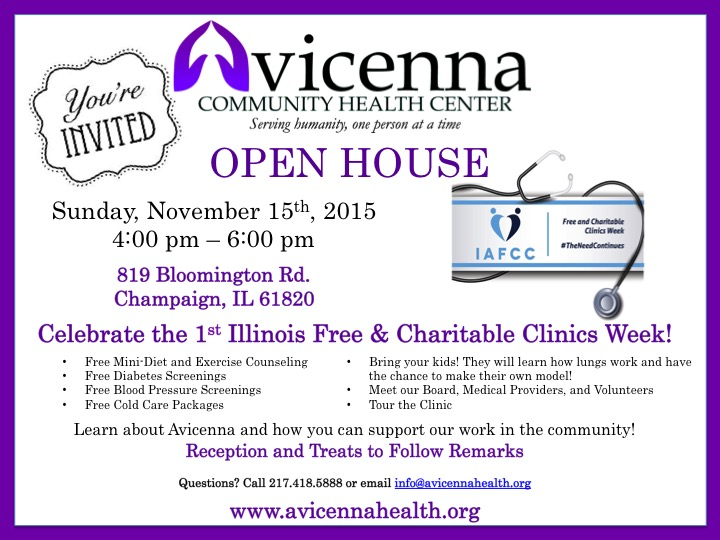 Interested in Attending? RSVP on our Facebook Event This event is part of the Illinois Associate of Free and Charitable Clinics because #TheNeedContinues.
