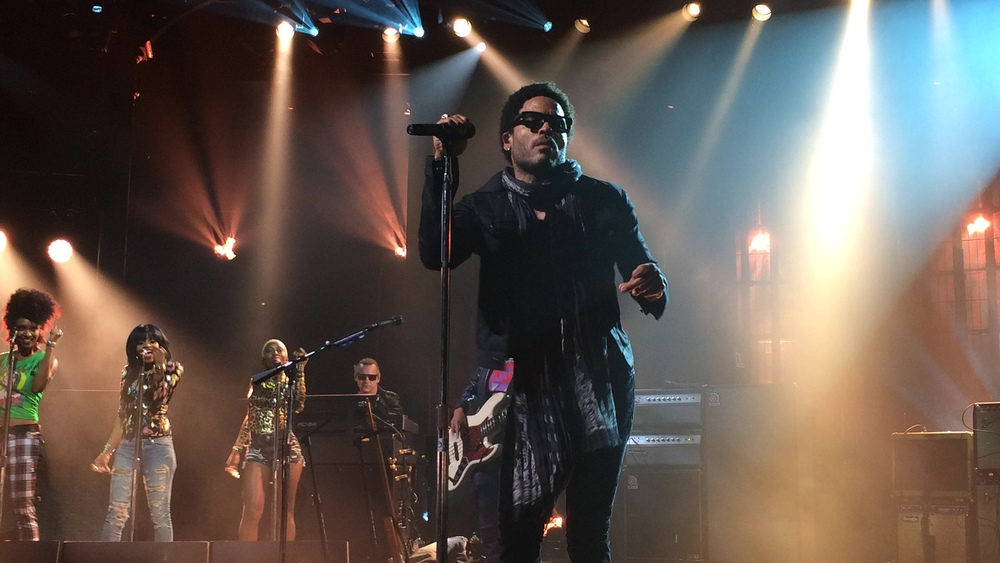 Lenny Kravitz. The Roundhouse, London.