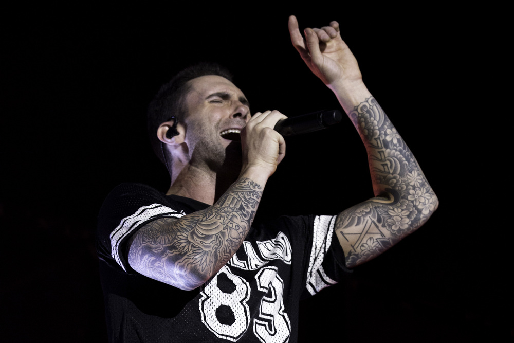 Maroon 5. London.
