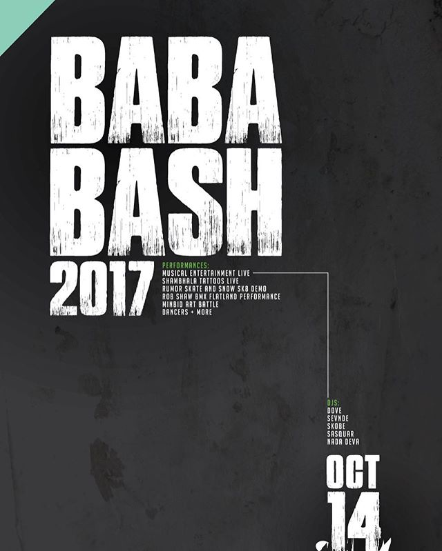 What are you doing tomorrow night? Head over to the Vignettes Building for the BaBaBash starting at 8PM. Bring your friends and get ready for a wicked good time 👌🏽 . Password is Bababash for tickets online and at the door . #vignettesyeg #bababash #yegevents #livedjset #skateboarding