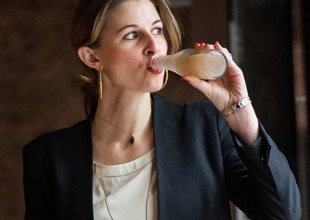 PUREWOW                                                            Meet Jordan Salcito: Sommelier, Philosopher and Mom Taking the Wine World by Storm