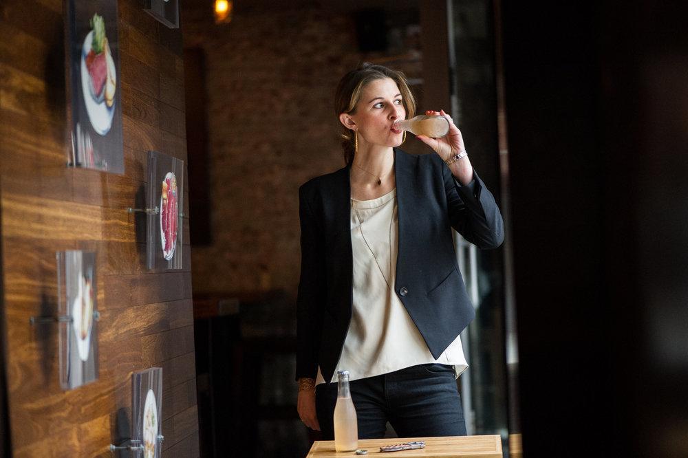 WINEFARER  The Wine Hustle Series | Jordan Salcito of RAMONA, Sicilian Ruby Grapefruit Wine Spritz