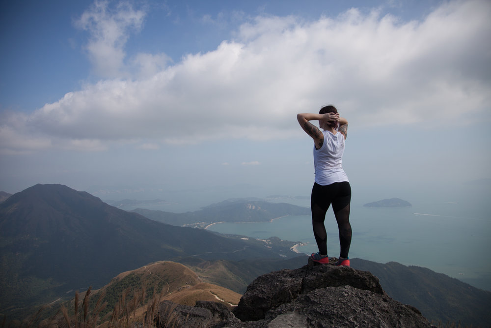 Lantau Peak in Hong Kong
