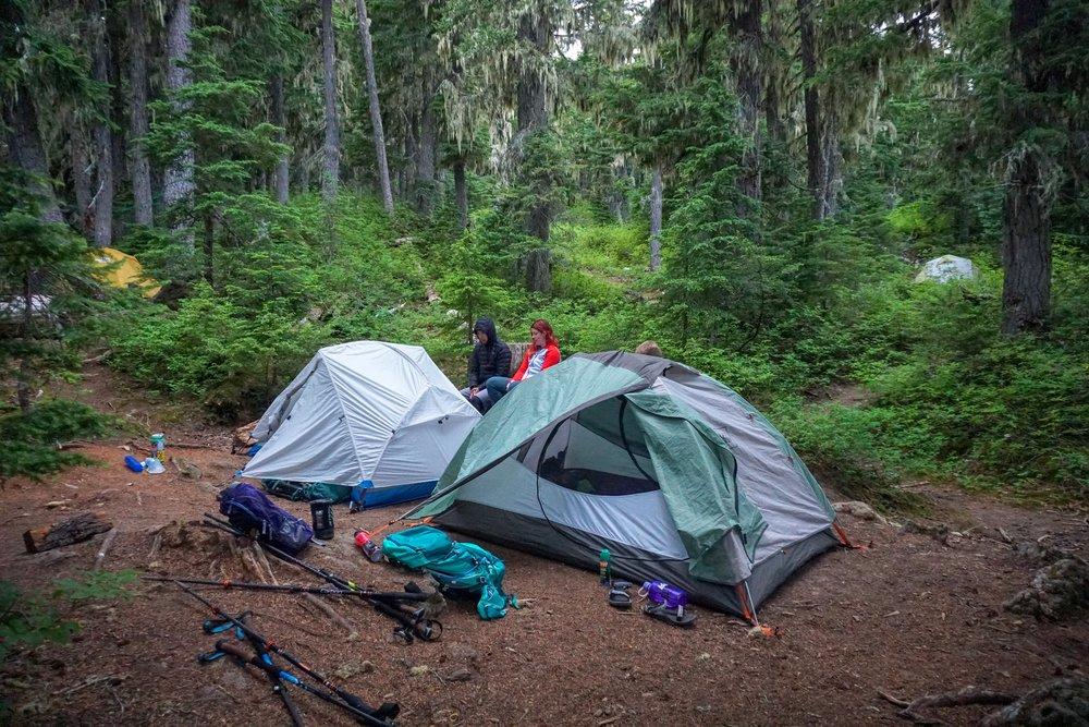 Campsite number 18 (photo by  Doris )