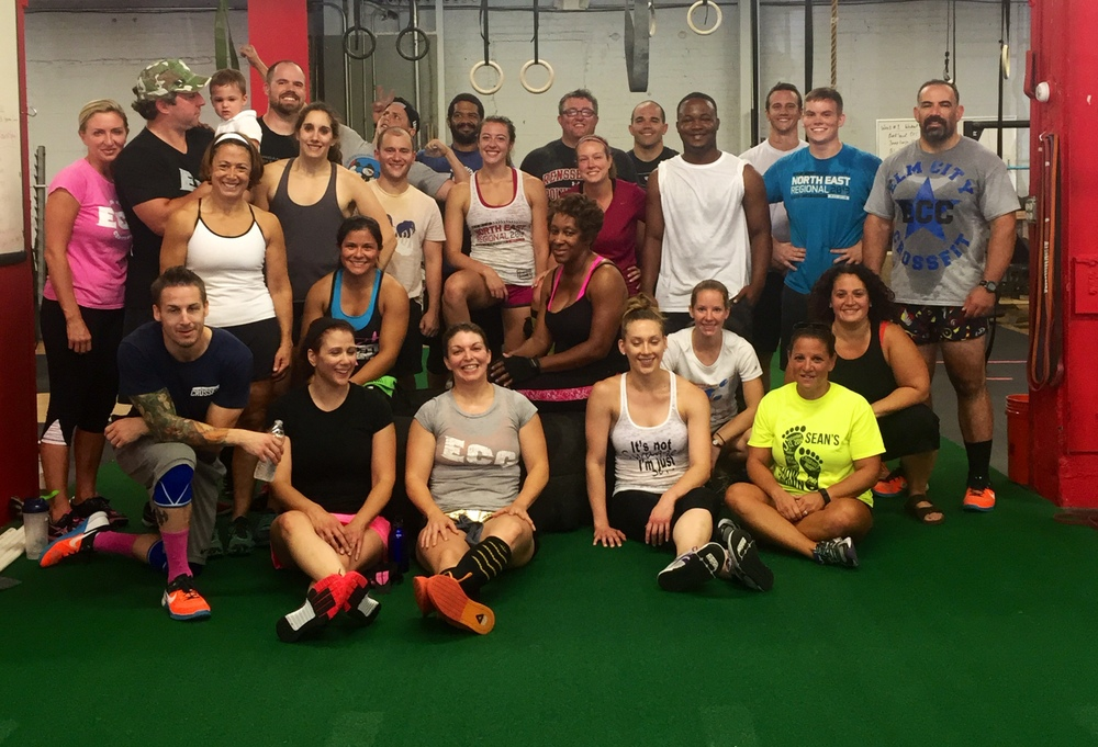 Labor Day Team WOD. Thanks for everyone who came and played - Great Job!