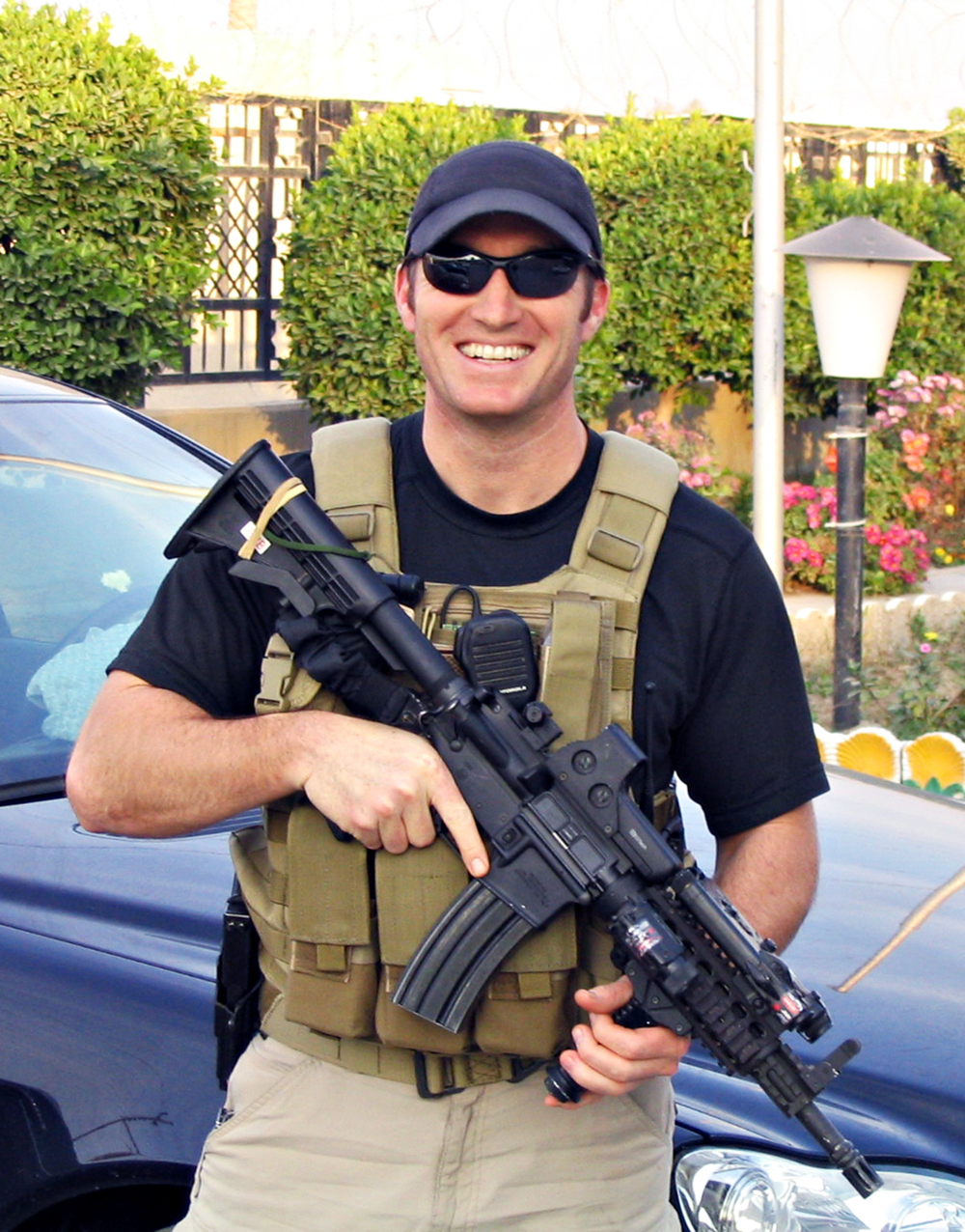 Former U.S. Navy SEAL Glen Doherty, 42, of Winchester, Massachusetts, assigned to a State Department security detail in Benghazi, Libya, died in an attack on a U.S. consulate on September 11, 2012. He is survived by his parents, Ben and Barbara, sister Katie, and brother Greg.