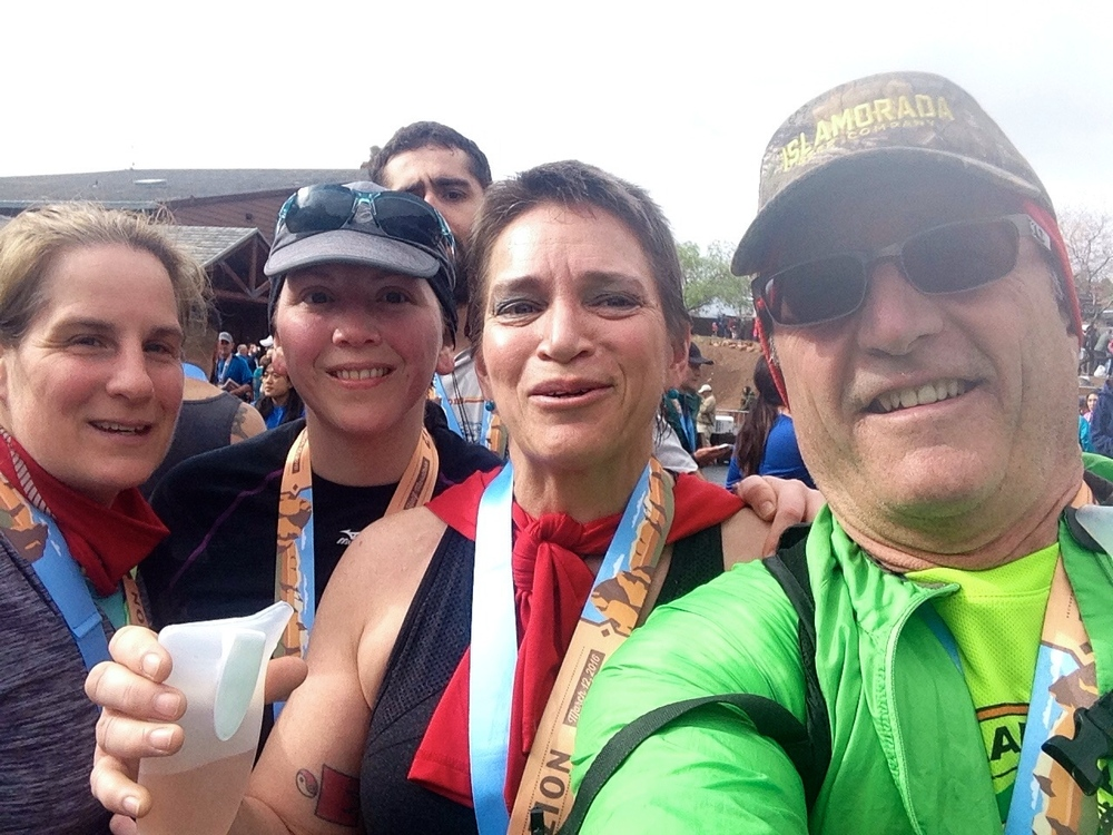 Congrats to Woody, Shirley and Bonnie on a beautiful finish at Zion Half Marathon! What a way to represent your Elm City CrossFit Family ~ we are very proud of you!