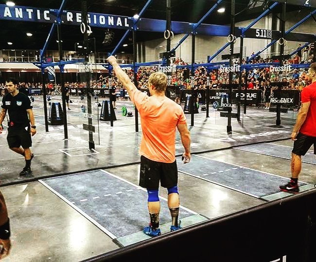 Bryce competed in the Atlantic Regional and finished in the top 20! Amazing work brother - and thanks for thinking about your crew from Elm City CrossFit