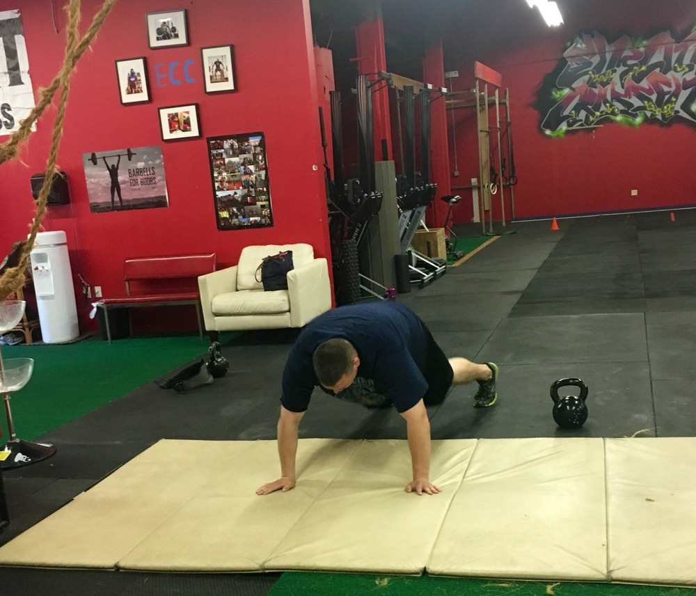 The hardest working athlete at Elm City CrossFit ~ Joe Ryan