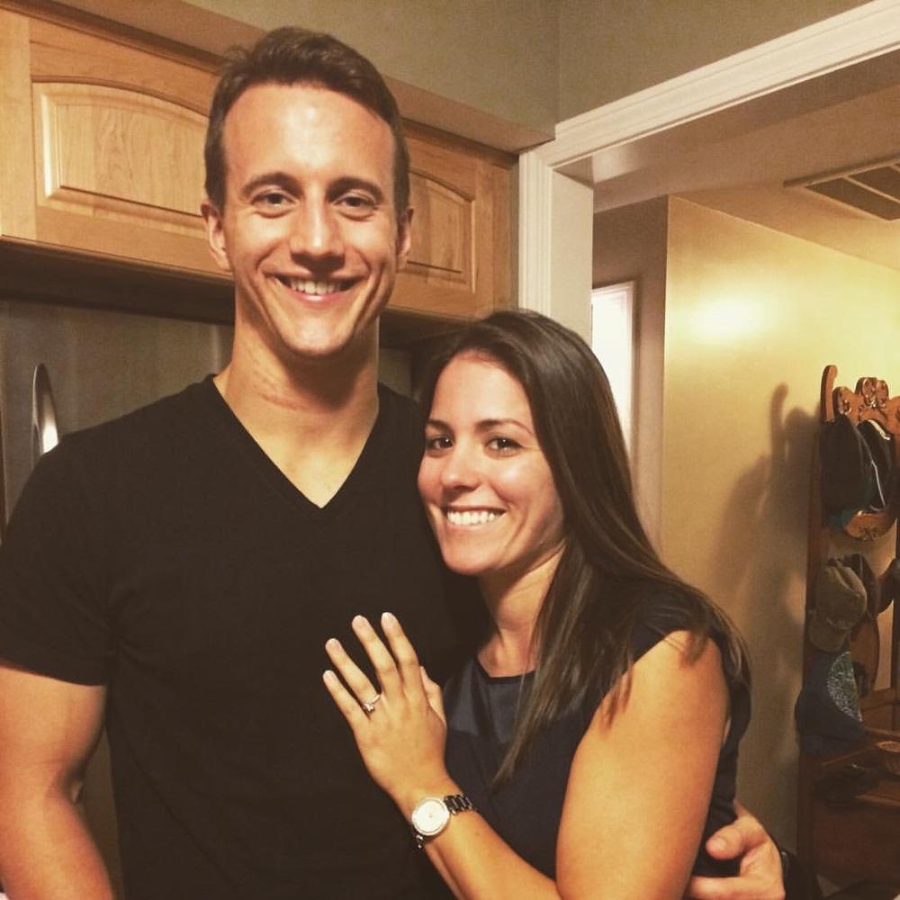 Congrats! Megan and Brian