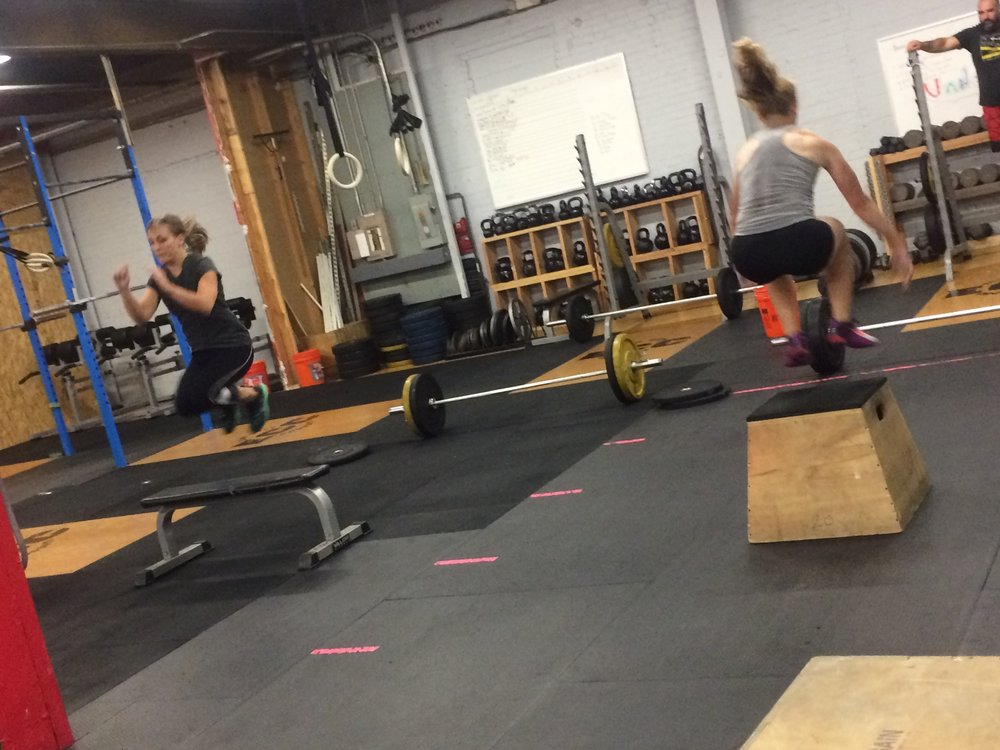 Flying high at Elm City CrossFit