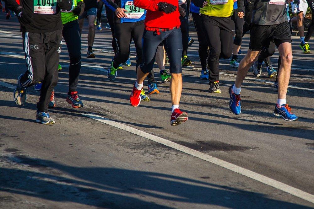 Runners  - via pixabay.com