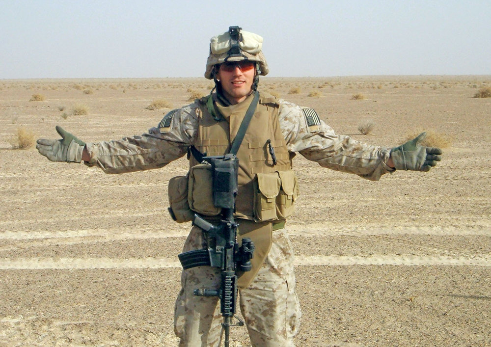 "First Lieutenant Travis Manion, 26, of Doylestown, PA, assigned to 1st Reconnaissance Battalion, 1st Marine Division, I Marine Expeditionary Force, based in Camp Pendleton, CA, was killed by sniper fire on April 29, 2007, while fighting against an enemy ambush in Anbar Province, Iraq. He is survived by his father, Colonel Tom Manion, mother Janet Manion, and sister Ryan Borek.  According to Manion's sister, Ryan, the workout is comprised of some of her brother's favorite exercises. ""This WOD was very deliberate in the way it was put together."" She serves as president of the  Travis Manion Foundation , which provides resources for veterans and hosts community service projects. ""My brother was a wrestler at the Naval Academy and had very strong legs, so this WOD is all dedicated to legs,"" she says."
