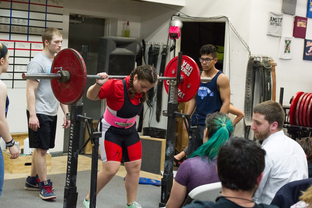 Emma D   Started Crossfit kids in 2012  Nationally ranked Power Lifter   Hates working out