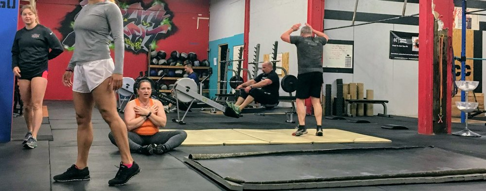Burpees, sit-ups, rowing, oh my! Tuesday's 6:00am Endurance is the place to find your pace.