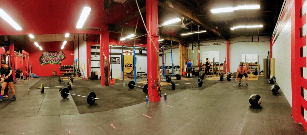 The mark of a good Saturday: all the barbells.