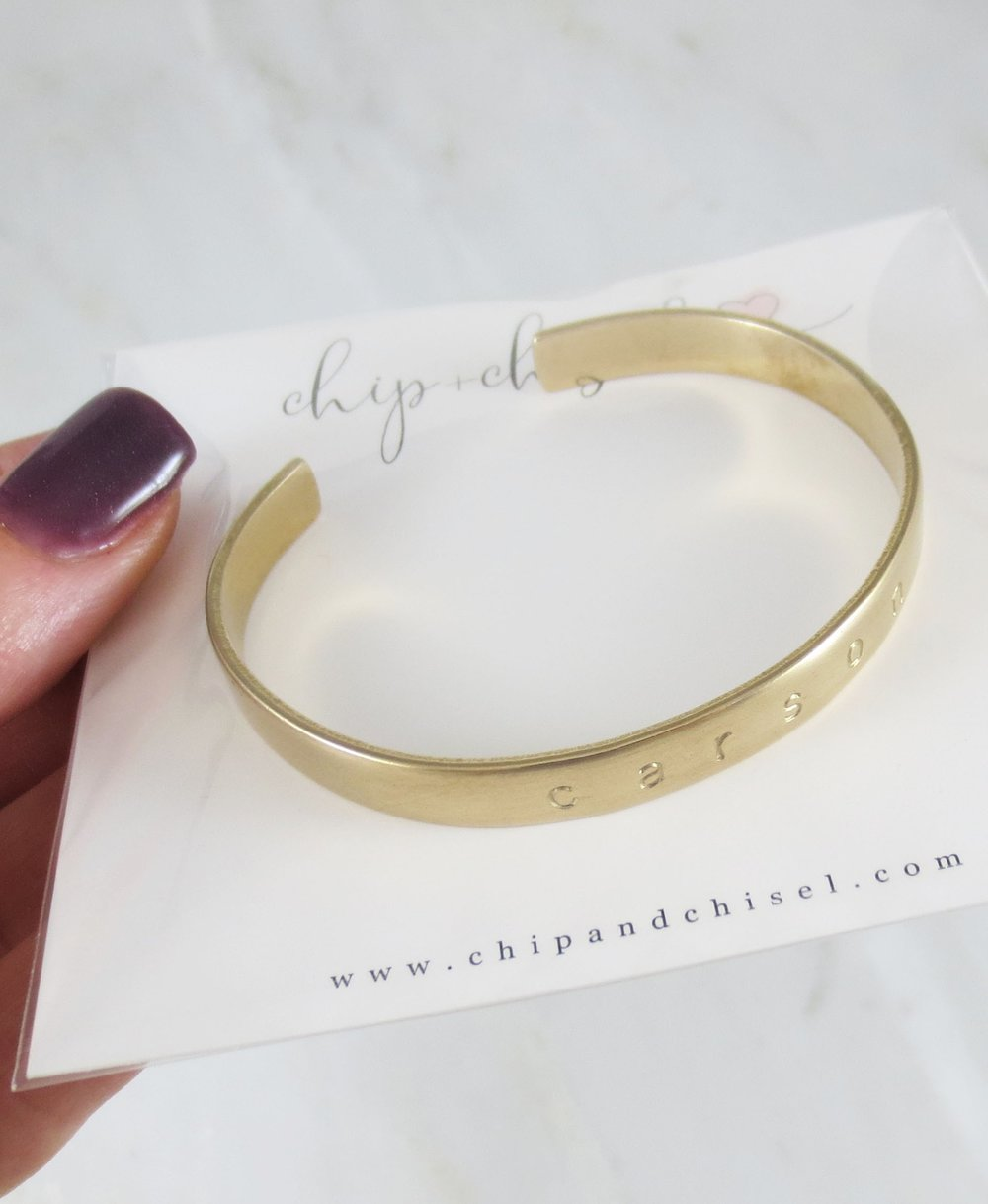 brass cuff love… -