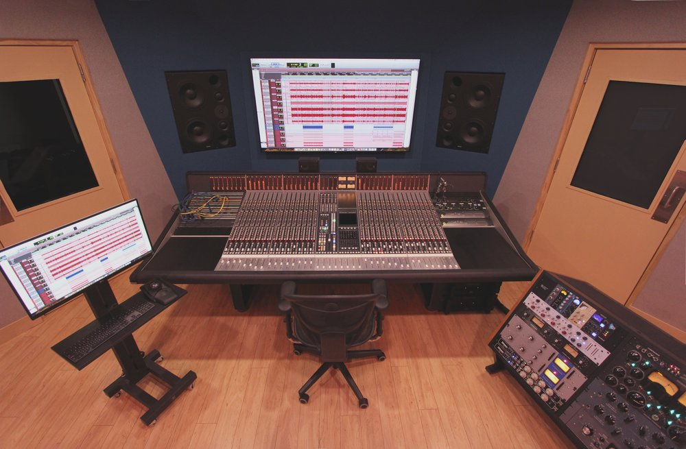 Studio M   Designed to create a radio-ready masterpiece   Book your next session
