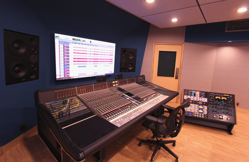 The Ultimate Studio M Upgrade    The SSL 4000 E Console    Book Now