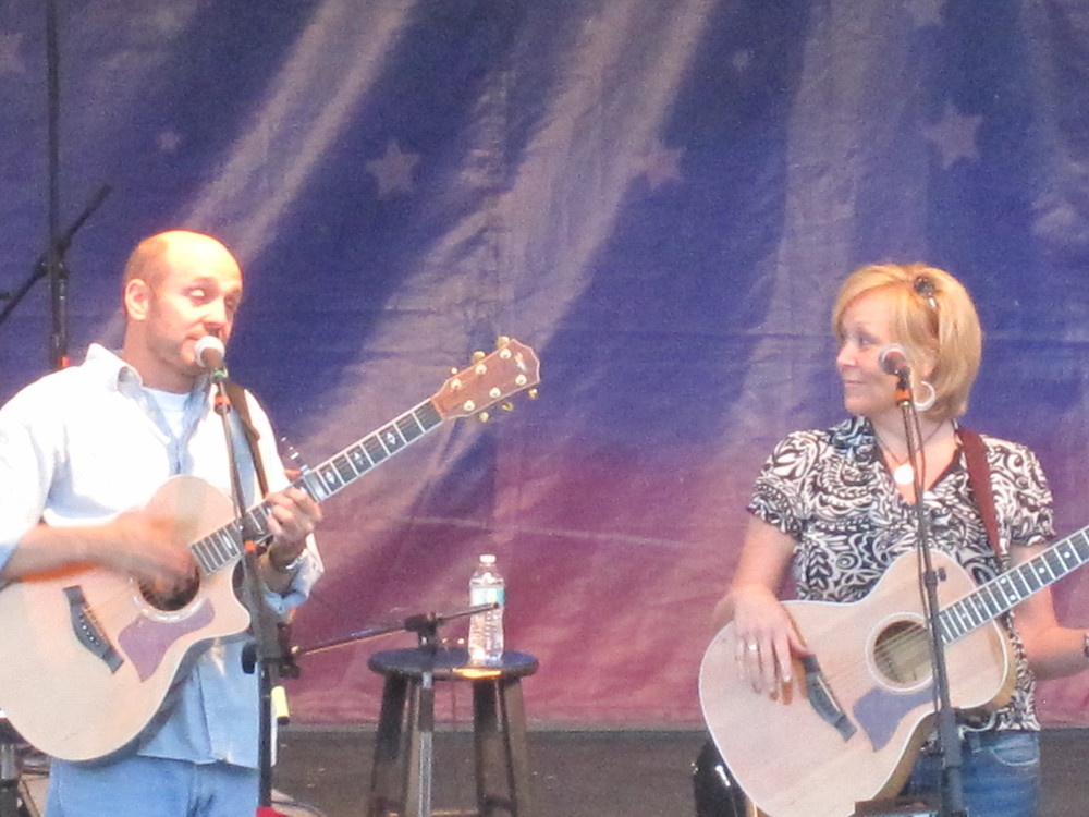 Layton Amphitheater with Peter Breinholt 2010.