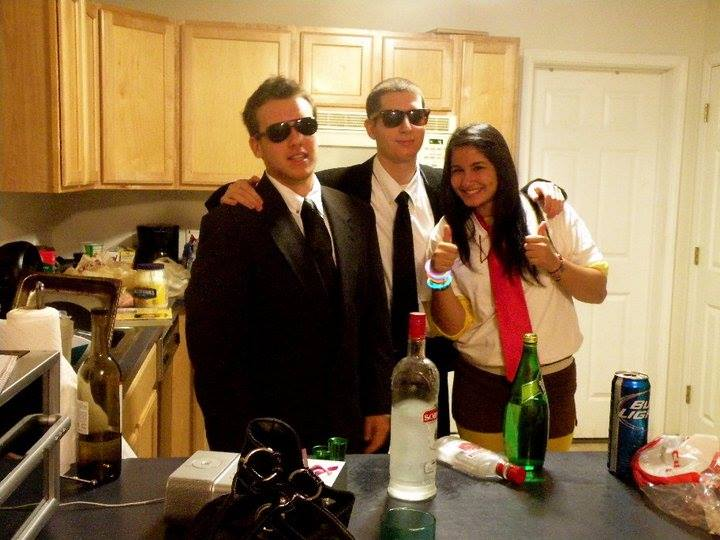 andrew was always looking out for his housemates and friends from going out to having - New Paltz Halloween