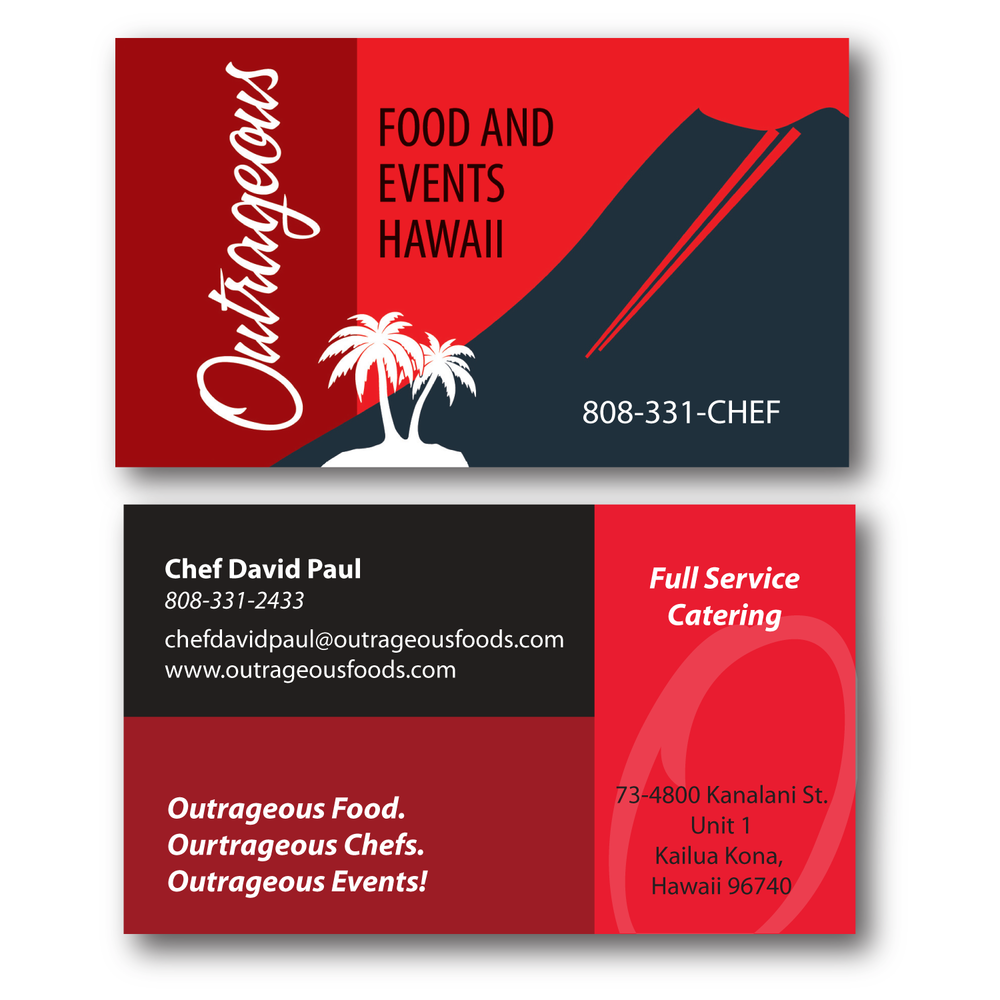 Business cards island printing and graphics outrageousg reheart Gallery