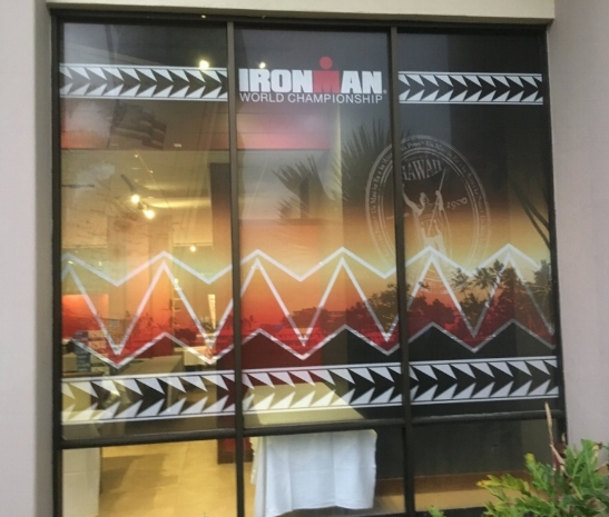 Perforated Vinyl - Ironman 2017
