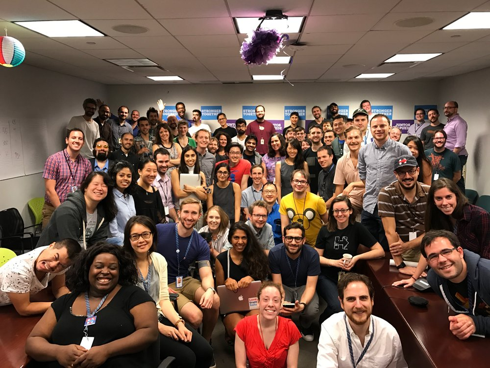 HFA tech team: 80 engineers, designers, and product managers