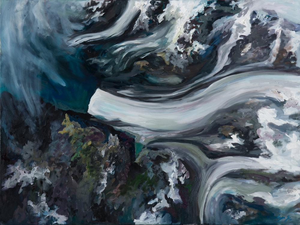 Melting: Neumayer Glacier South Georgia, Jan 2005