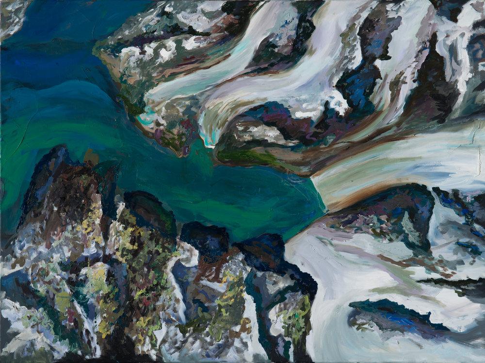 Melting: Neumayer Glacier South Georgia, Sep 2016