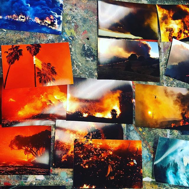 Collecting images that tell different aspects about how #wildfires are changing in California: moving faster, more volatile, and with more intensity. #climatechange is already here.