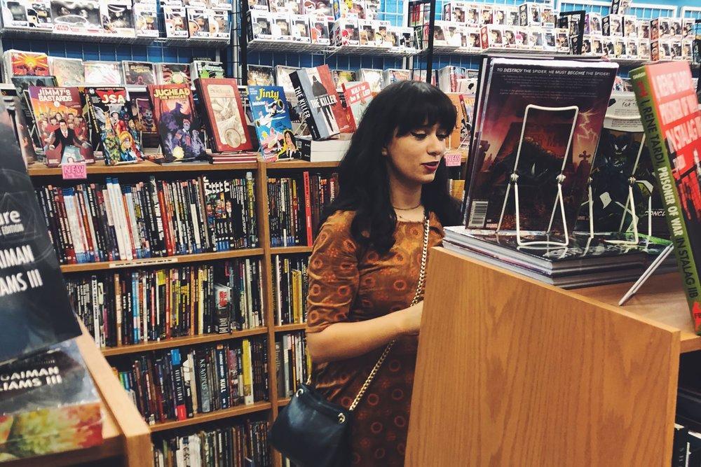 Janette Ayub: The Comic Aficionado