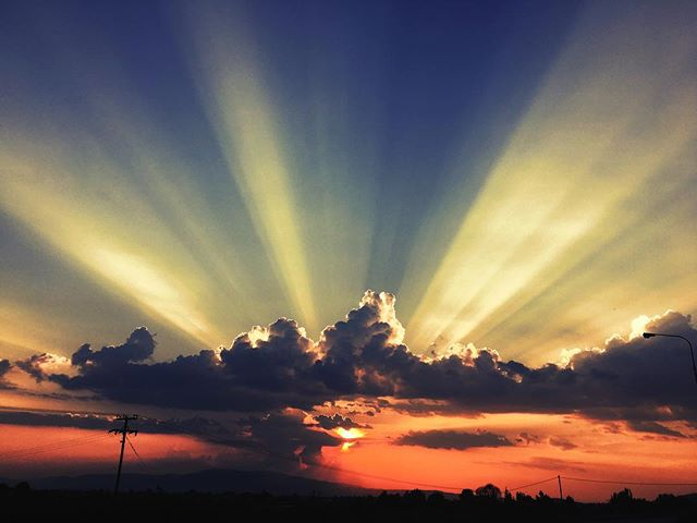 This #sunset could be the next @krama cover... #krama #PowerProgressiveTrance #album #light