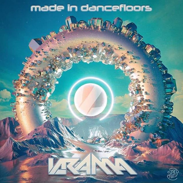 "I am very happy to announce my new album is out by @spintwistrecords ! ""Made in dancefloors""  is my new ""baby""!! It has new songs, some old songs with new sounds and of course a long-awaited from @neelixmusic , Caroline Harisson - Make up(krama remix)!! Thank you for your support🙏!! You can grab the album from https://spintwistrecords.lnk.to/madeindancefloors"